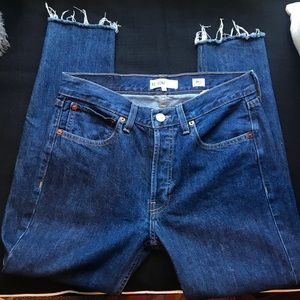 RE/DONE denim dark wash jeans